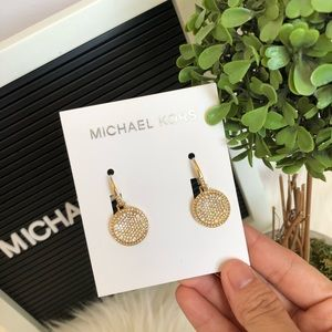 NEW MK EARRINGS AUTHENTIC
